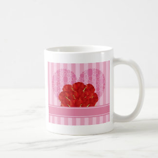A Dozen Bouquet of Red Roses Mug