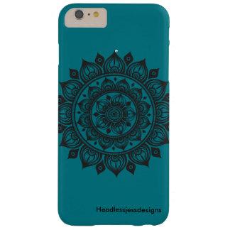 A Dozen Onions Mandala iPhone Case Turquoise.