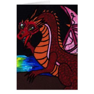 A DRAGON CARD