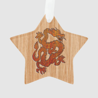A Dragon in Bamboo style