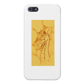 A Dragon Wreathed in Smoke (Bronze) Case For iPhone 5/5S