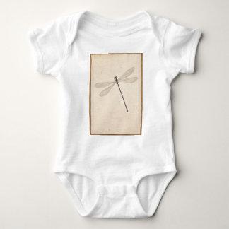 A Dragonfly, by Nicolaas Struyk, early 18th c. Baby Bodysuit