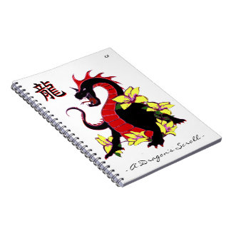 A Dragons Scroll4 Notebook