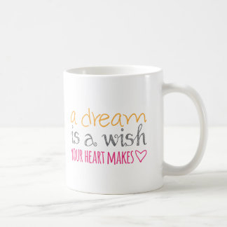 A Dream Is a Wish Your Heart Makes Coffee Mug
