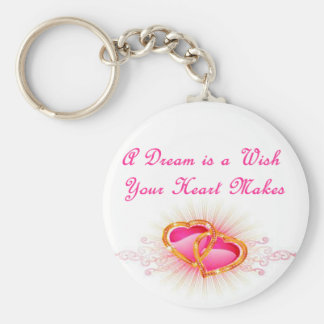 A Dream is a Wish Your Heart Makes Key Ring