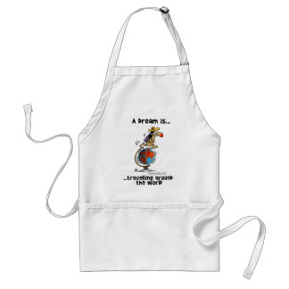 A Dream is... Travelling Around The World Aprons