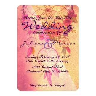A Dream Of A Wedding Invitation