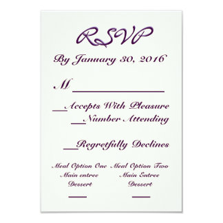 A Dream Of A Wedding RSVP Card 9 Cm X 13 Cm Invitation Card