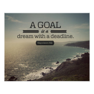 A Dream With A Deadline Poster