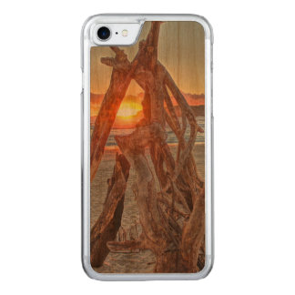 A Driftwood Sunrise Carved iPhone 8/7 Case