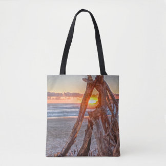 A Driftwood Sunrise Tote Bag