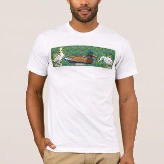 a duck between two gooses T-Shirt