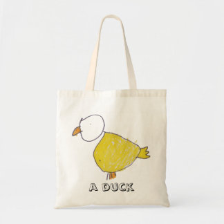 A Duck Budget Tote Budget Tote Bag