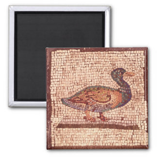 A Duck, detail from Orpheus Charming the Animals Square Magnet