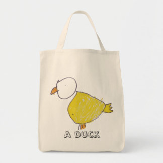 A Duck Organic Grocery Tote
