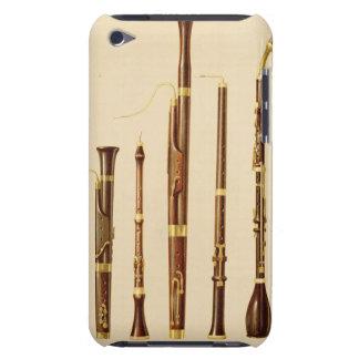 A dulcian, an oboe, a bassoon, an oboe da caccia a iPod touch covers