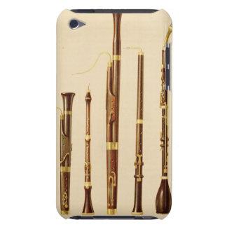 A dulcian, an oboe, a bassoon, an oboe da caccia a iPod Case-Mate cases