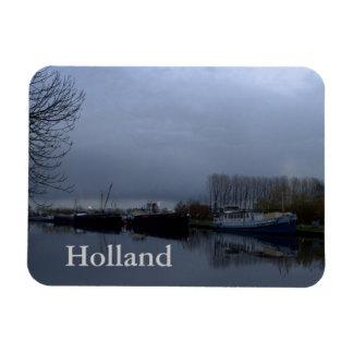 A Dutch canal Rectangular Magnets