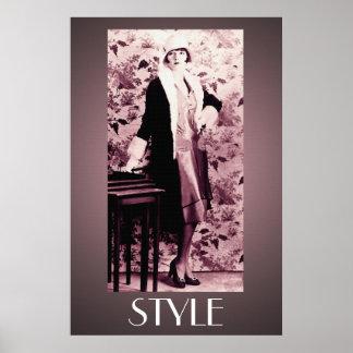 A Fabulous Flapper 36 x 24 Poster