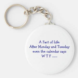 A Fact of Life - Keychain