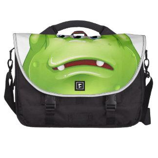 A failed fat green monster commuter bags