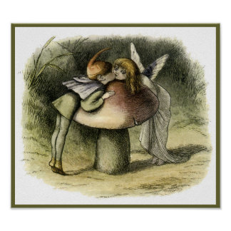 """A Fairy Kiss"" by Doyle – Print"