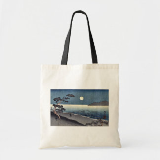 A fairy moon and a lonely shore  Ukiyoe Tote Bag