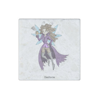 A fairy named Deduce Stone Magnet