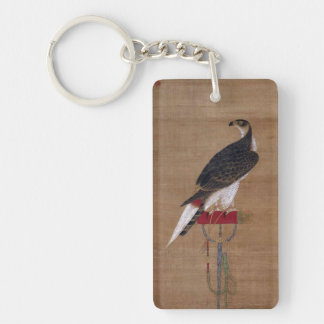A Falcon - 16th Century Korean Scroll Acrylic Keychain