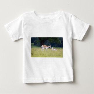 A Fallow Deer (Doe) with Fawn Baby T-Shirt