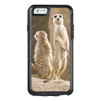 A Family Of Meerkats: Father, Mother And Baby OtterBox iPhone 6/6s Case