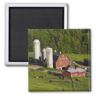A farm in Barnet Center, Vermont. Connecticut Square Magnet