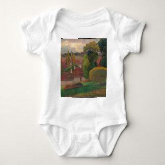 A Farm in Brittany - Paul Gauguin Baby Bodysuit