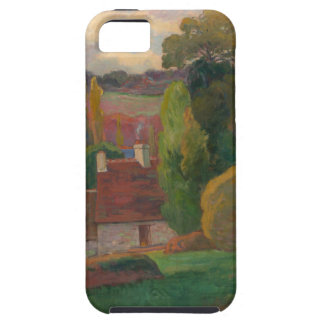 A Farm in Brittany - Paul Gauguin iPhone 5 Cases