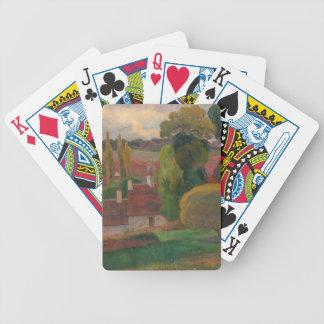 A Farm in Brittany - Paul Gauguin Poker Deck
