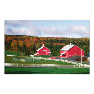 A farm in Vermont near Peacham. RELEASE Photograph