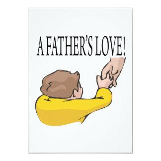 A Fathers Love 13 Cm X 18 Cm Invitation Card
