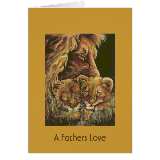 A Fathers Love Greeting Cards