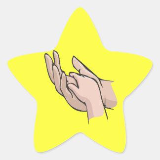 A Fathers Love Star Sticker