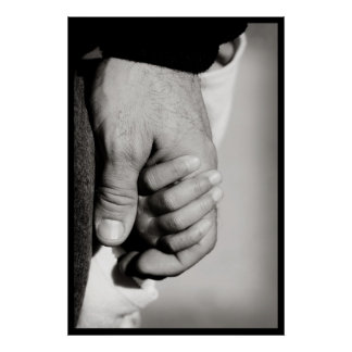 A Father's Trusting Protective Love Poster