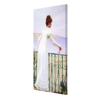 A Favour Edmund Blair Leighton Stretched Canvas Prints
