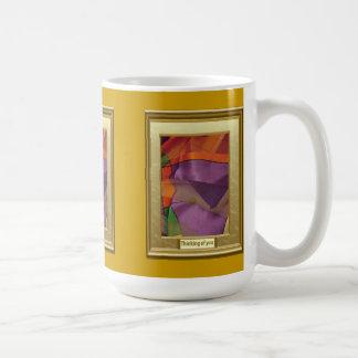 A feast of colour, Brilliant shapes Coffee Mug