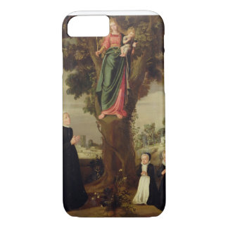 A Female Donor with her Two Daughters Kneeling in iPhone 7 Case