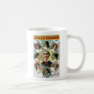 A Female Drummer Coffee Mug