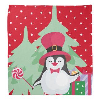 A Festive Penguin - 1 Bandana
