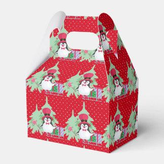 A Festive Penguin - 1 Favour Box