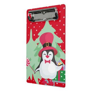 A Festive Penguin - 1 Mini Clipboard