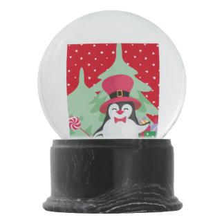 A Festive Penguin - 1 Snow Globe