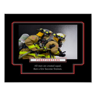 A Few Become Firemen Poster