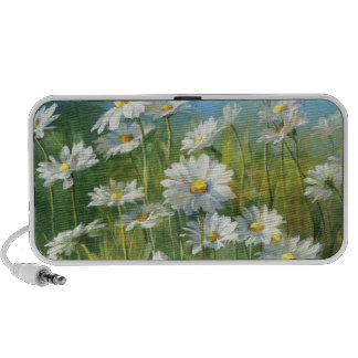 A Field of White Daisies iPod Speaker